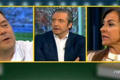 Tomás Roncero, 'acorralado' en 'El Chiringuito' por la encuesta de AS sobre si se debe vender a Cristiano Ronaldo