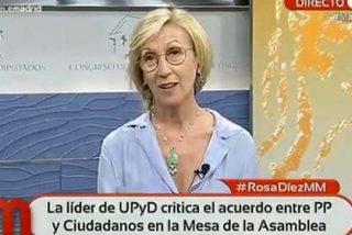 ¡Menudo globo de Rosa Díez tras el pacto en Madrid entre el PP y Ciudadanos!