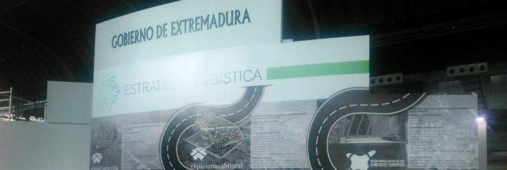 Extremadura participa por primera vez en el Salón Internacional de la Logística