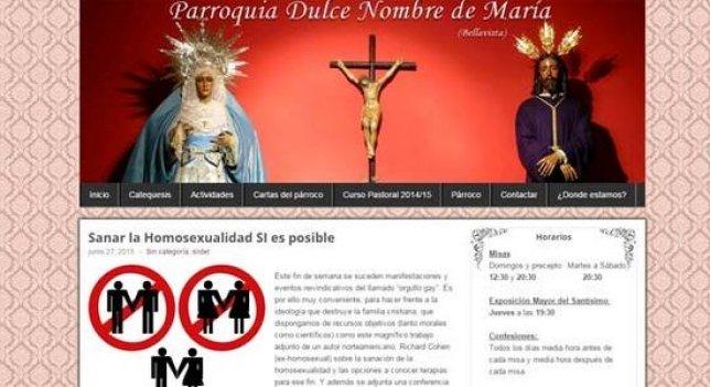 StopLGBfobia denuncia al párroco del Dulce Nombre
