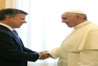 """Santos: """"La paz en Colombia encaja con la encíclica del Papa"""""""