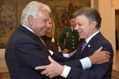 Santos mandó un avión de la Fuerza Aérea a Caracas para buscar a González