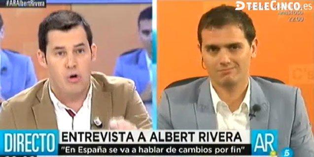 """Rivera pone en su sitio a Juan Segovia: """"Espero responsabilidad en el PSOE y no pactos con los separatistas de Compromís"""""""