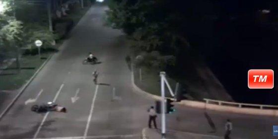 [Vídeo] El sicario que es abatido a balazos cuando iba a rematar a su víctima