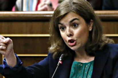 """Soraya Saénz de Santamaría (PP) a Antonio Hernando (PSOE): """"No me insulte que le leo los labios"""""""