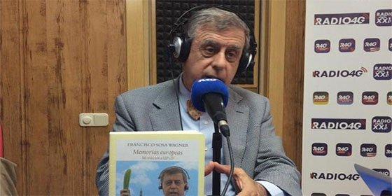 """Francisco Sosa Wagner: """"Girauta y yo nos jugamos una cena con Nart y Maura a que Rosa Díez pactaría con Rivera, aún se la debemos"""""""