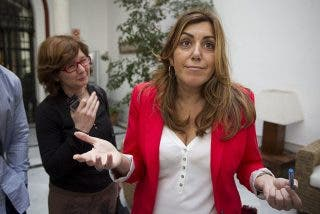 Susana Díaz consigue la presidencia de Andalucía con el apoyo de Ciudadanos a su investidura