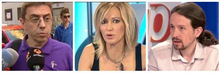 """Susanna Griso: """"Podemos siempre ha defendido el acercamiento de presos, ¡que no nos acusen de traducir mal!"""""""
