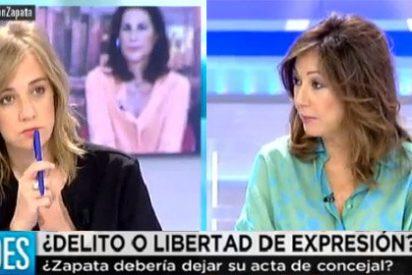 Ana Rosa ridiculiza la defensa de Tania a Zapata: