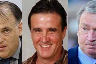 Bronca a tres en Twitter entre Javier Tebas, Javier Clemente y José Ramón de la Morena