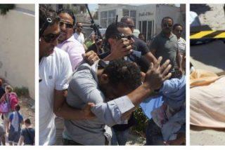 Los turistas de los hoteles ametrallados en Túnez: