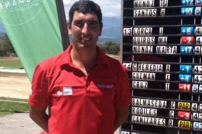 Tiago Cruz sigue mandando en la primera Copa Ibérica de Golf