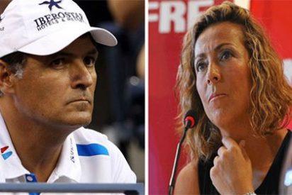 """Toni Nadal: """"Gala León debería haberse ganado el respeto de los jugadores"""""""