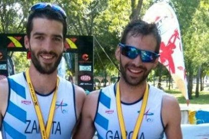 Dos triatletas del Capex en el Campeonato de España Xterra