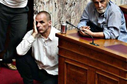 Una imagen vale más que 1.000 palabras: Grecia por los suelos y al borde del abismo