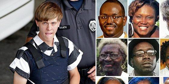 El vídeo del enloquecido racista en Charleston charlando con sus víctimas antes de matarlas