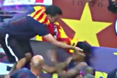 ¿Sabes por qué Xavi le sacudió un guantazo a Neymar en plena fiesta del Barça?