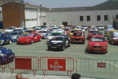 Los andaluces Adorna y Gómez se embolsan el triunfo en el XIII Rallysprint Villa de Feria