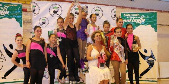 Almendralejo acoge el XIII Trofeo Federación de Patinaje Artístico de Extremadura