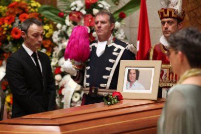 Osoro dio el pésame al marido de Pedro Zerolo