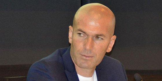 """Zidane: """"Soy francés pero mi mujer es española y vivimos casi toda la vida en España porque estamos muy a gusto aquí"""""""