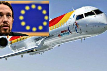 Air Podemos: Pablo Iglesias logró que Iberia retrasase un vuelo al que no llegaba a tiempo