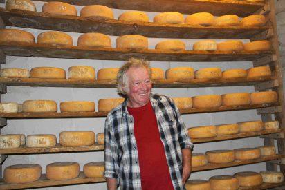 Gemas queseras de Francia: los productos de Françoise y Alain Perret (Monein)