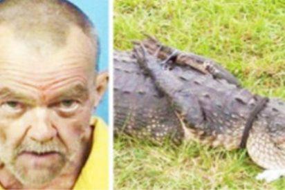 """Sorprendido teniendo sexo con un cocodrilo al que había secuestrado: """"¡Eres mi perra!"""""""