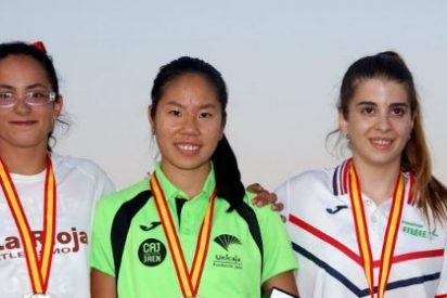 Isabel Guisado consigue el bronce de los 100ml en el Campeonato de España Juvenil