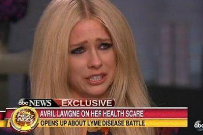 Las lágrimas de Avril Lavigne por culpa de una garrapata que casi la mata