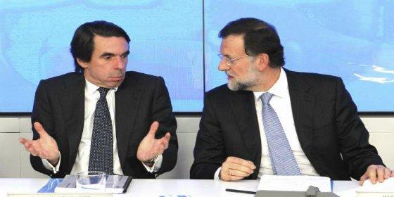 Rajoy le da a Aznar la medicina que más le escuece al expresidente