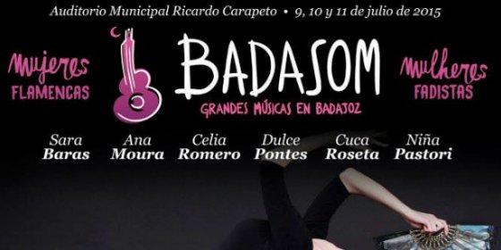 El flamenco y el fado sonarán con voz de mujer en Badasom