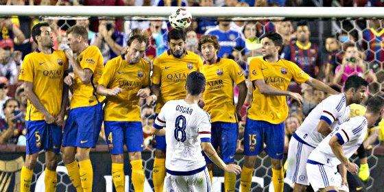 El Barça vuelve a pinchar en su gira veraniega, esta vez con el Chelsea