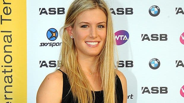 Una de las tenistas más deseadas es amonetada por su sujetador