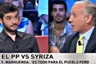 Eduardo Inda sacude una buena tunda al podemita Pablo Bustinduy