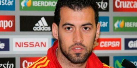 """Sergio Busquets: """"Entiendo que Pedro tenga dudas, lo que quiere es jugar"""""""