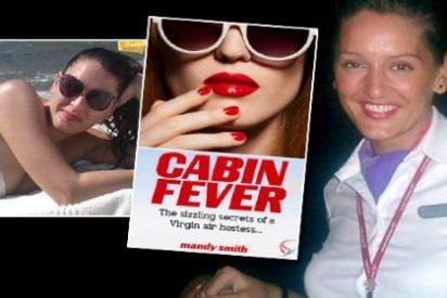 Los secretos de una cachonda 'azafata Virgin': 'turbulencias' sexuales y orgías con las estrellas