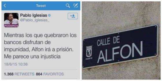 ¡Una calle para Alfon!