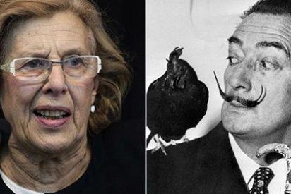 Carmena podría borrar del callejero de Madrid a Salvador Dalí, Manuel Machado, Miguel Mihura, Jardiel Poncela y Luca de Tena