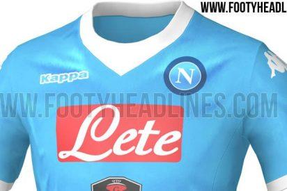 Filtran la nueva camiseta del Nápoles