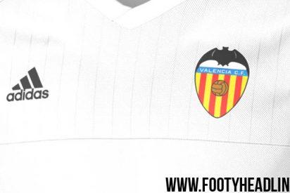 Filtran la nueva camiseta del Valencia