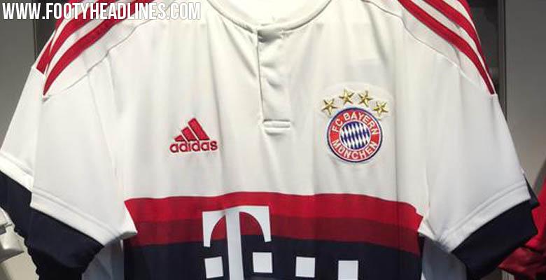 Filtran la segunda equipación del Bayern