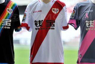 El Rayo Vallecano sorprende con los tres diseños de sus nuevas camisetas