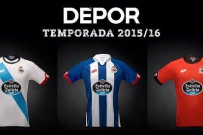 Así son las nuevas camisetas del Deportivo
