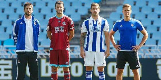 La Real Sociedad presenta sus nuevas equipaciones