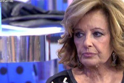 María Teresa Campos da unas poco creíbles explicaciones a por qué lloró en directo ¿Fue por trabajo?
