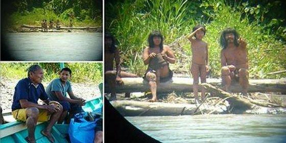 Las imágenes inéditas de la última y extraña tribu perdida del Amazonas