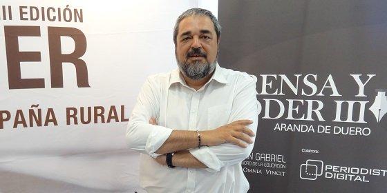 """Carlos Aganzo: """"El enemigo número uno del corresponsal es Montoro"""""""