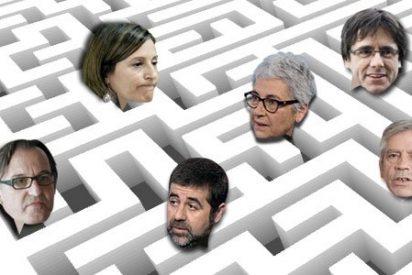 El laberinto de las entidades independentistas en Cataluña