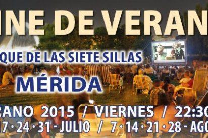Cine de verano de la zona Urban de Mérida